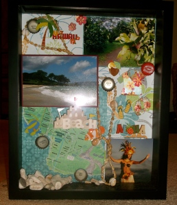 Hawaii Shadow Box