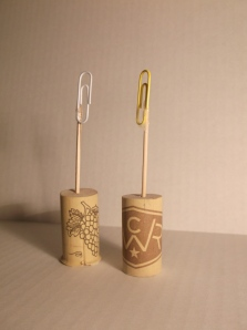 Wine Cork Flower Stems