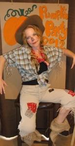 Woman's Scarecrow Costume
