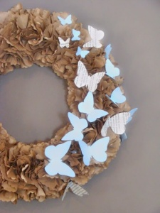 Spring Paper Wreath
