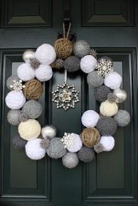 Winter Ball Wreath
