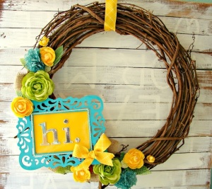 Summer Hi Wreath