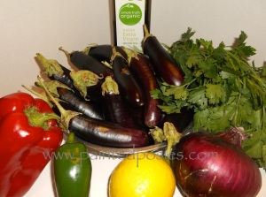 Eggplant Relish Ingredients
