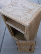 Sanded Telephone Table