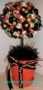 Halloween Topiary
