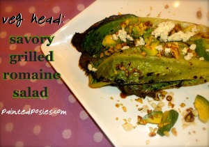 Savory Grilled Romaine Salad