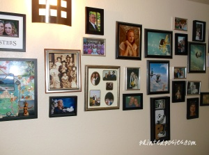 Gallery Wall Before