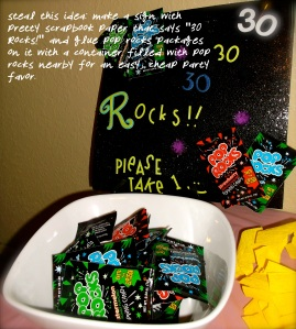 30 Rocks! Party Favors