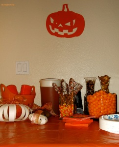Pumpkin Party Snack Table