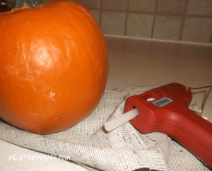 Creating A Cloth Pumpkin