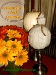 Creating A Cloth Pumpkin