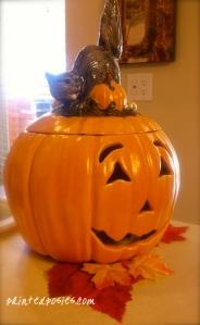 Porcelain Pumpkin