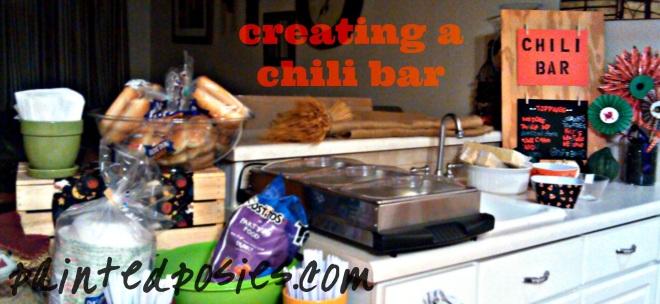 Creating a Chili Bar
