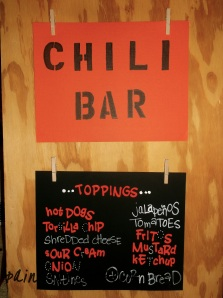 Chili Bar Ingredients