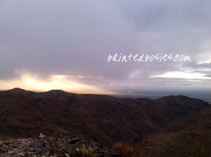 South Mountain Ranger Trail Arizona