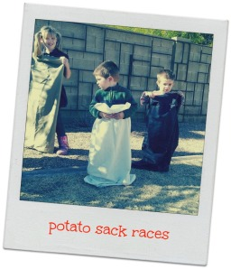 Potato Sack Races
