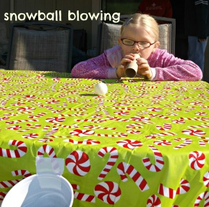 Snowball Blowing