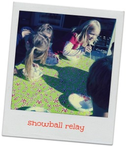 Snowball Relay