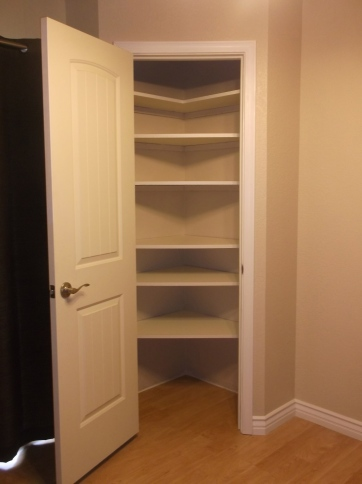 Finished Pantry Interior