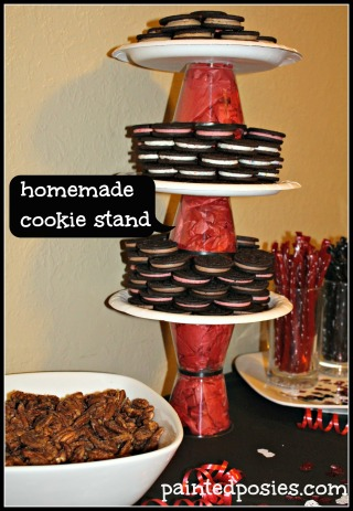 Homemade Cookie Stand