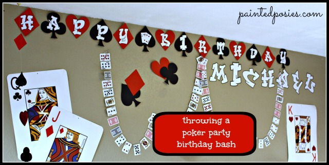 Throwing a Poker Party Birthday Bash