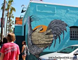 Roosterfish Mural LA, California