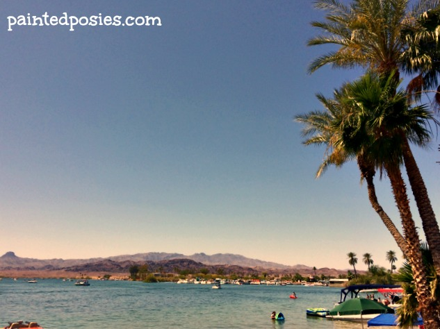 Lake Havasu Shoreline Mountains