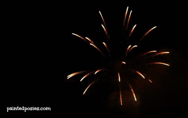 Ocean Beach Fireworks 2014