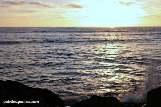 Ocean Beach Sunset Day One