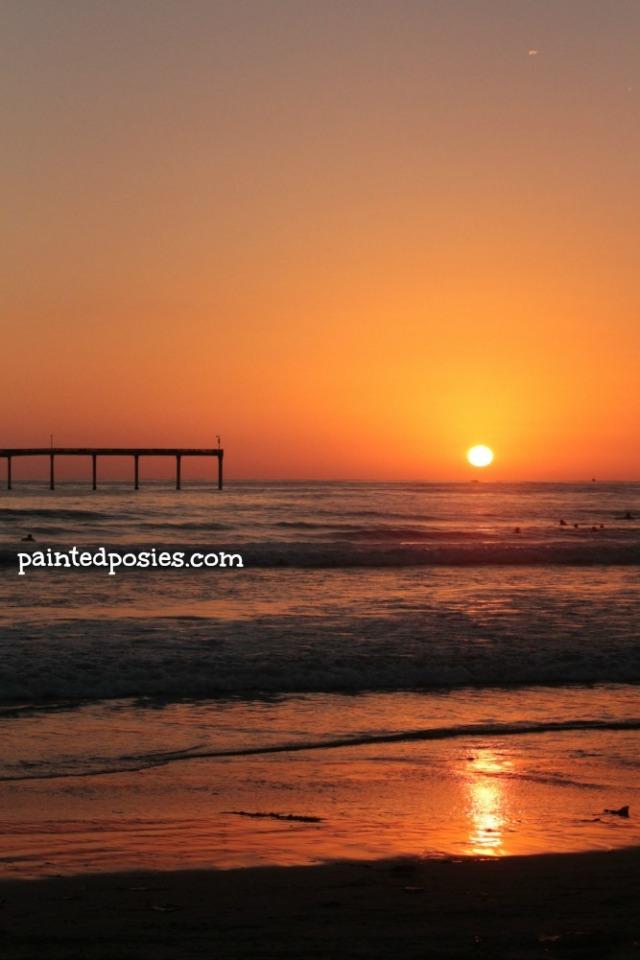 Ocean Beach Sunset Day Two
