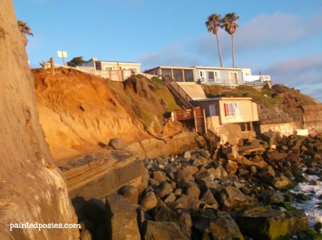 Rocky Cliff Ocean Beach