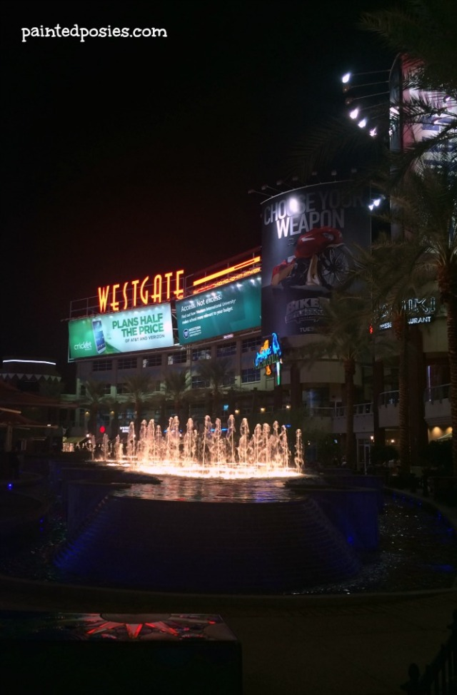 Westgate Sign and Fountain