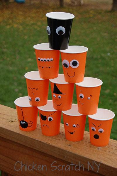 Halloween-Cups-Stacked-DIY