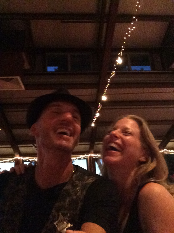 Joe and Amy Laughing September 2014