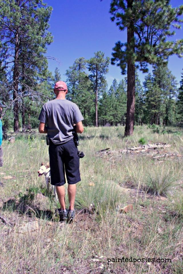 Joe Hiking Camping August 2014