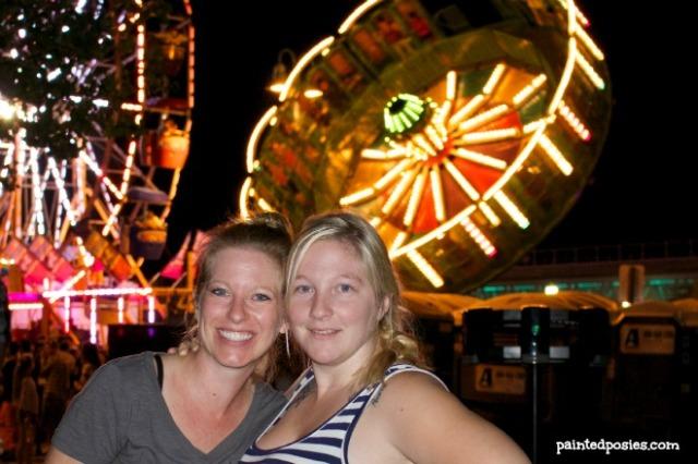 Amy and Ashley Oktoberfest October 2014