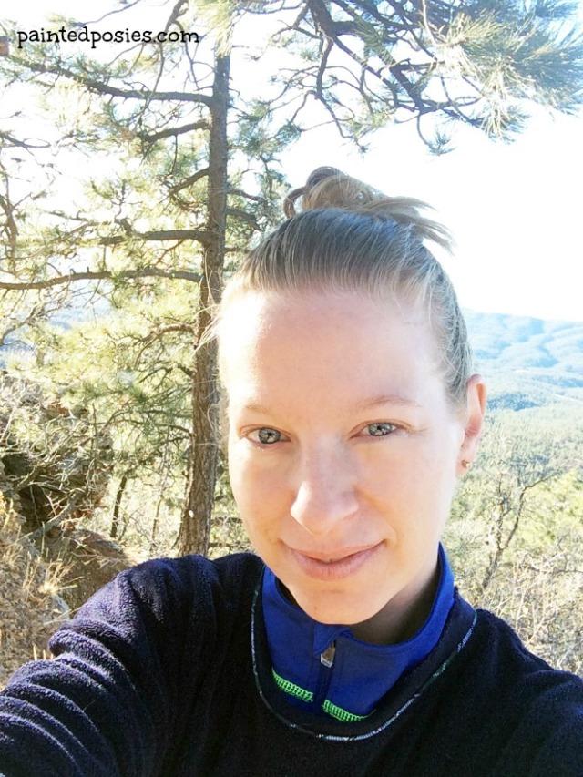 Amy Thanksgiving Camping Mogollon Rim