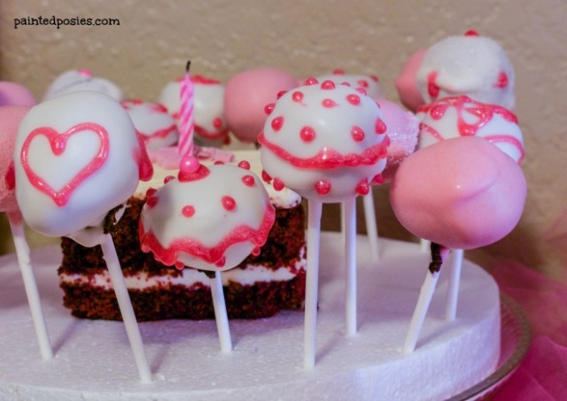 Barbie Dress Up Party Cake Pops