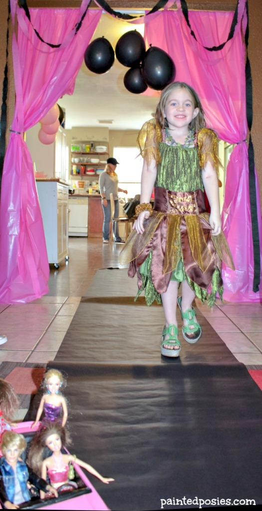 Barbie Dress Up Party Runway