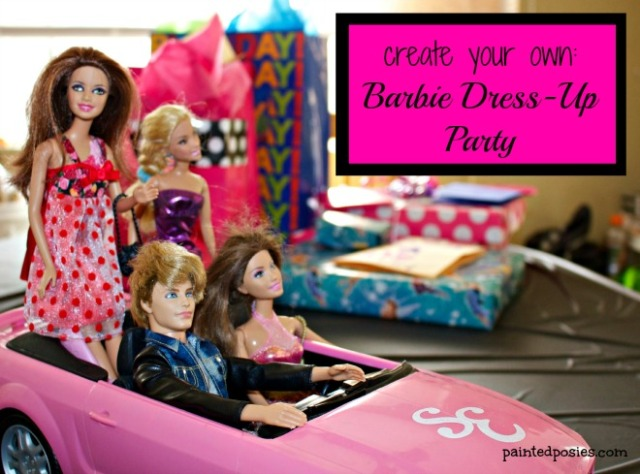 Create Your Own Barbie Dress-Up Party