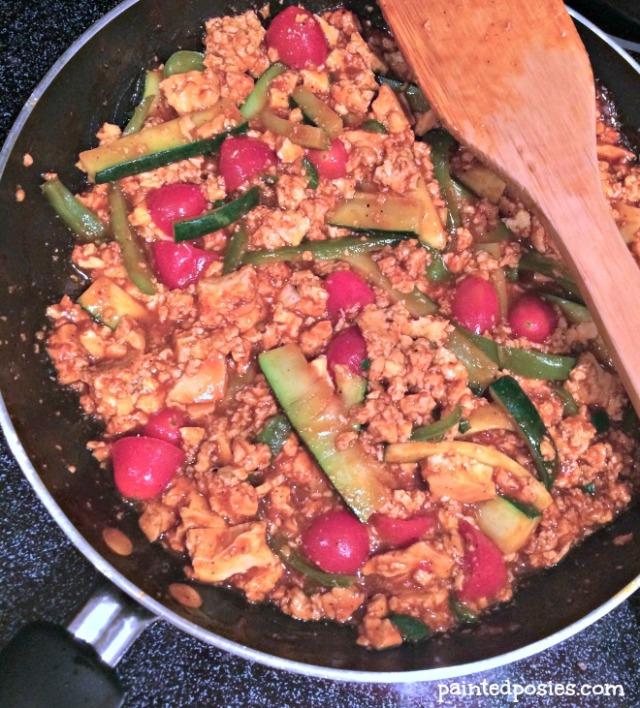 Vegan Fajitas Fauxjitas Prep 2