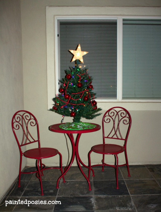 Christmas Decorations Front Porch December 2014