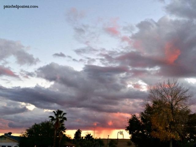 Purple Rain Sunset