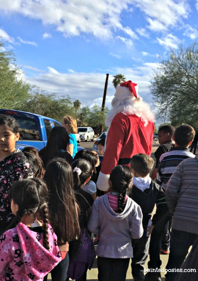 Santa's Crowd December 2014