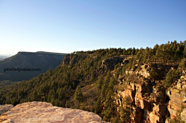 Mogollon Rim Cliffside November 2014