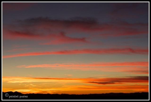 Wandering Eye Wednesday Mogollon Rim Sunset