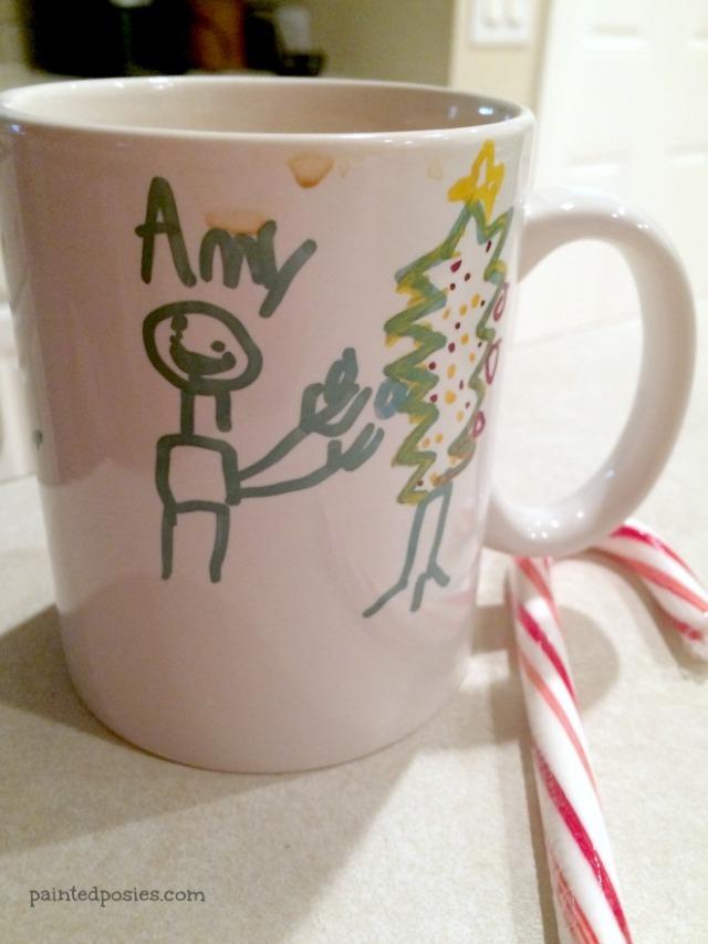 Handmade Sharpie Mug Christmas Present