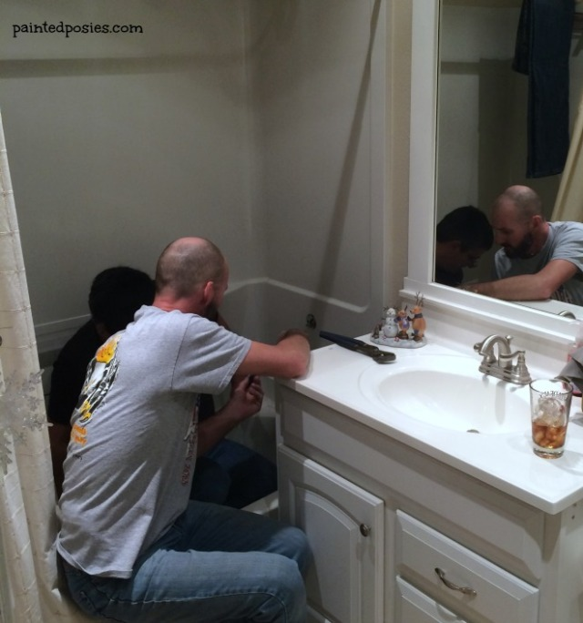 Guest Bathroom Fix December 2014
