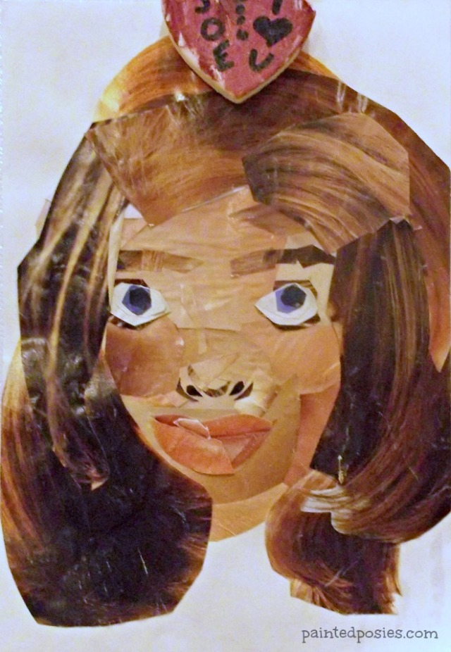 Self Portrait Magazine Collage