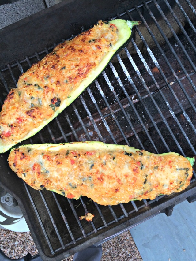 Stuffed Zucchini Spring 2015